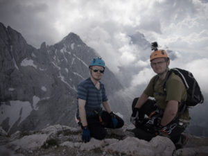 Alpspitzin huipulla!